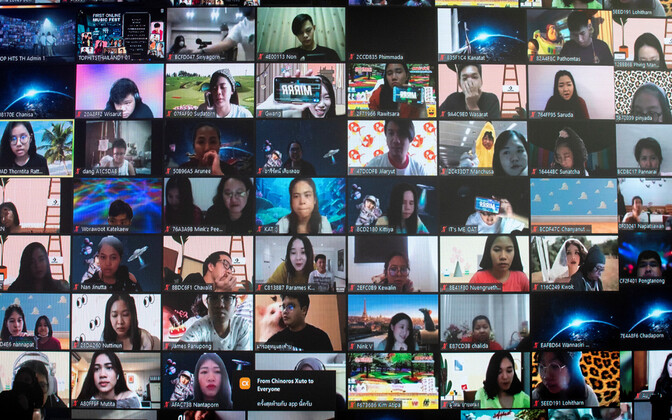 Zoomi videokonverents.