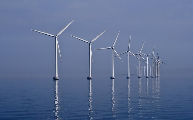 Middelgrunden wind farm (Photo is illustrative)