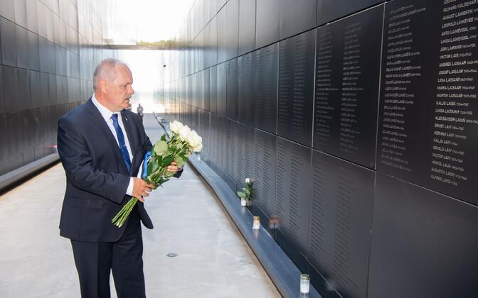 Пыллуаас почтил память жертв июньской депортации.