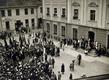 Juunipöörde miiting Tartus Raekoja platsil 21. juunil 1940.