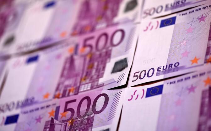 Viimastel aastatel on Euroopa Keskpank massiivselt trükkinud eurosid juurde, et elavdada eurotsooni majandust.