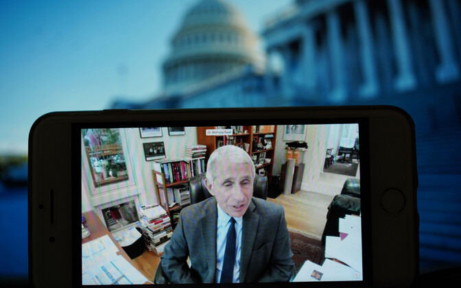 USA peaepidemioloog Anthony Fauci.