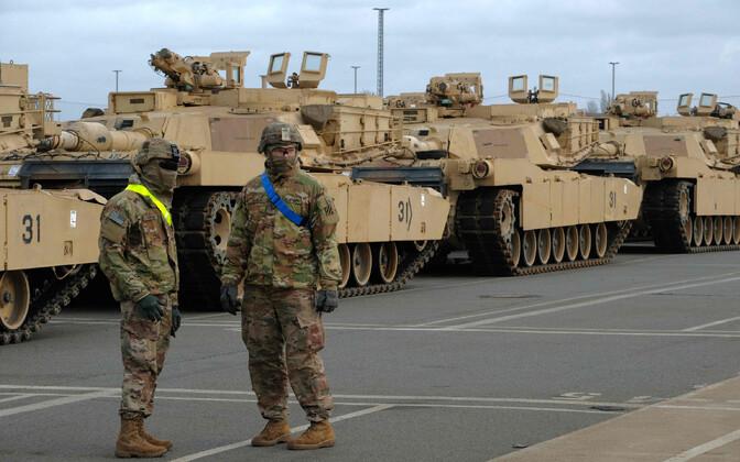 USA sõjaväelased Saksamaal.