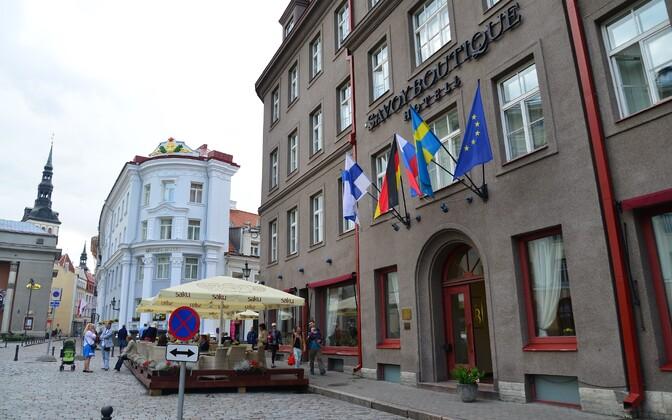 Отель Savoy в Таллинне.