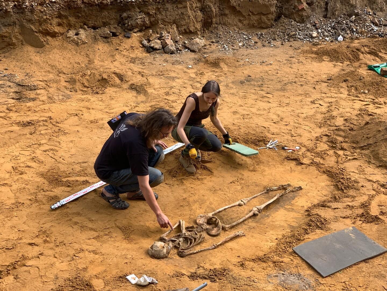 Обнаруженные в Силламяэ останки могут быть древним кладбищем
