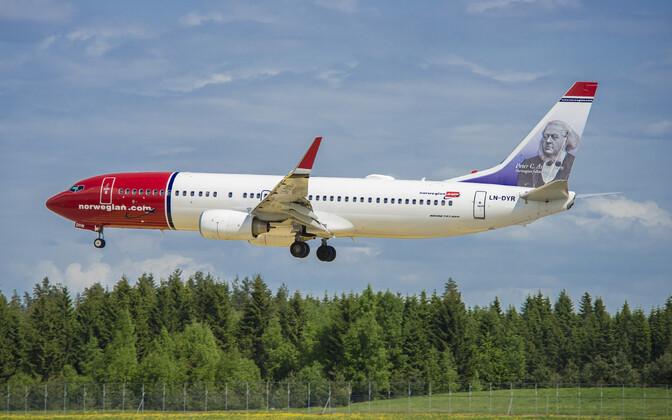 Norwegiani lennuk.