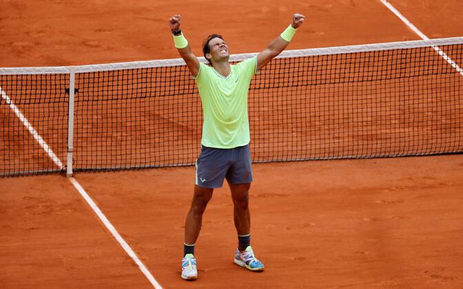 Rafael Nadal mullustel Prantsusmaa lahtistel
