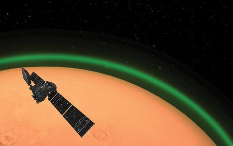 Marsi virmalised kunstniku nägemuses.