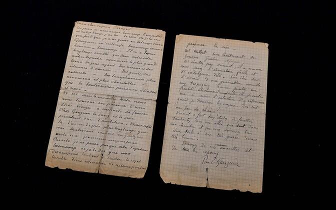 Kiri, mille kirjutasid kunstnikud Vincent Van Gogh ja Paul Gauguin