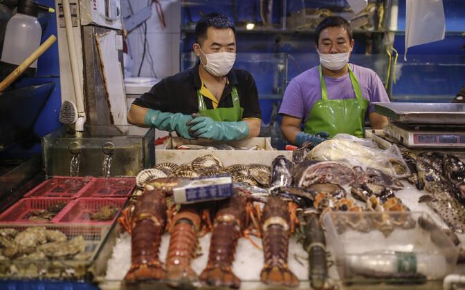 Mereandide turg Pekingis.
