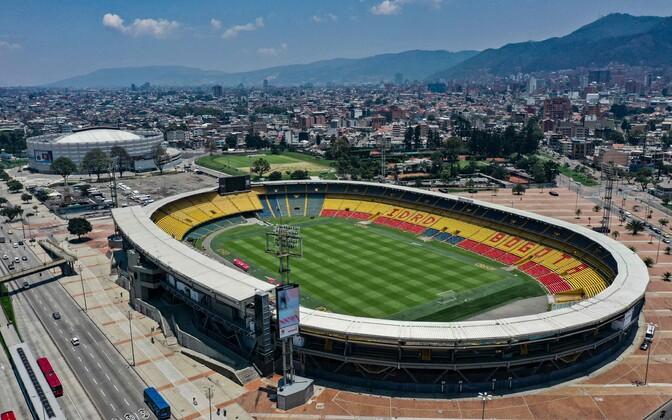El Campini jalgpallistaadion Colombia pealinnas Bogotas