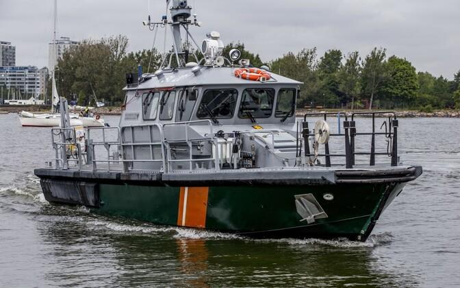 Корабль Береговой охраны вблизи Хельсинки. Фото иллюстративное.