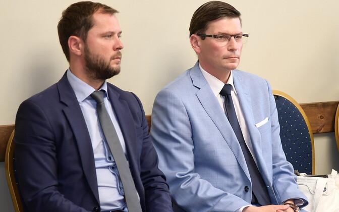 Алексей Наумкин и Макс Каур.