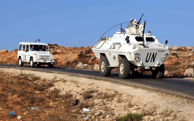 Rahuvalvajad Liibanonis.