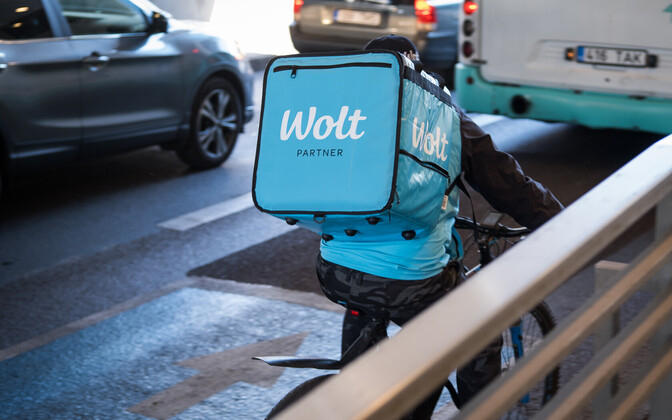 The food deliver driver of Wolt
