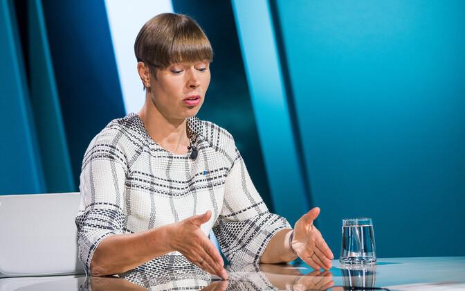 Kersti Kaljulaid on ETV's