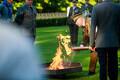 Церемония зажжения Огня древности.