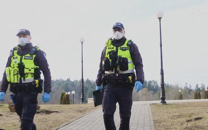 Эстонские полицейские. Иллюстративное фото.