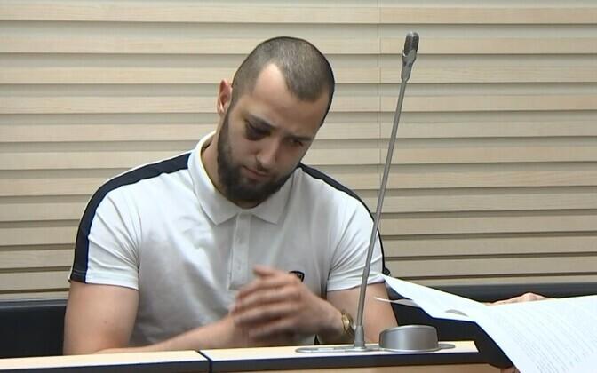 Laagna teel raske avarii põhjustamises süüdistatav Isa Khalilov kohtus