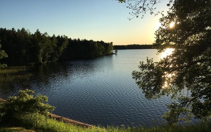 Озеро Ульясте.