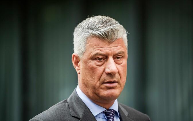 Президент Республики Косово Хашим Тачи.