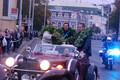 Erki Noole, Aleksei Budõlini ja Indrek Pertelsoni vastuvõtt 2000. aasta olümpia järel.
