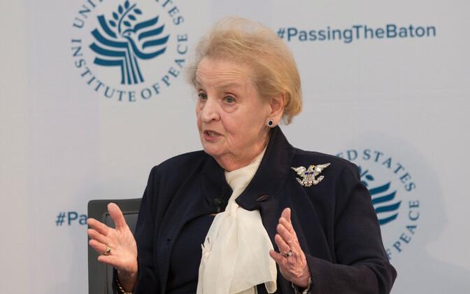 USA endine välisminister Madeleine Albright.