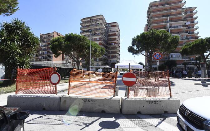Uus koroonaviiruse kolle Lõuna-Itaalias.