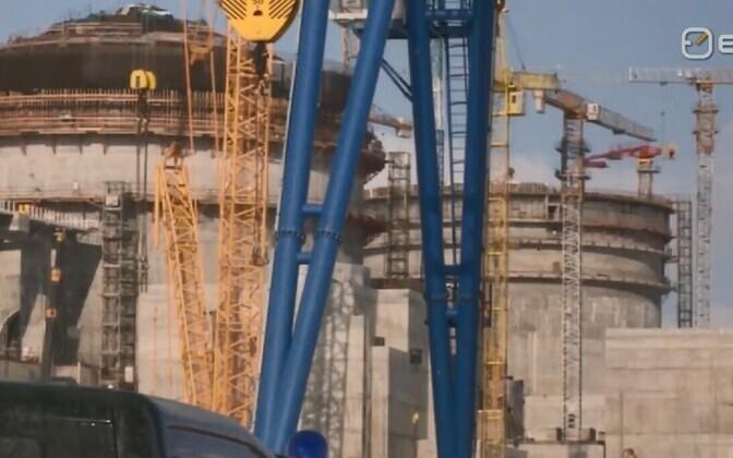 Astravetsi tuumajaama ehitus.