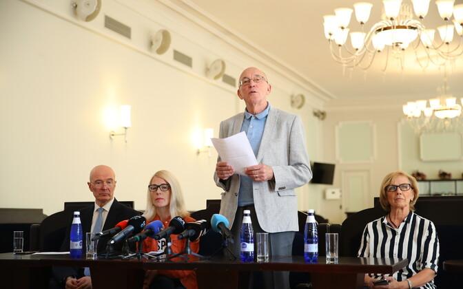 Rahvusooper Estonia nõukogu pressikonverents.