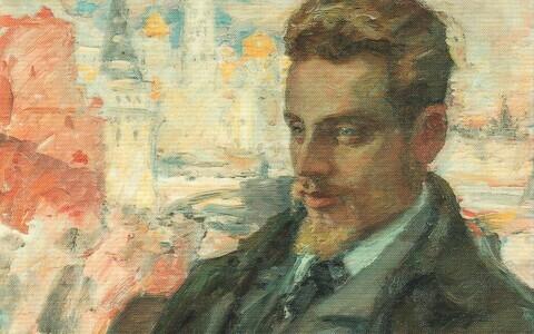 Portreemaal luuletaja Rainer Maria Rilkest. Autor Leonid Pasternak (1862–1945).