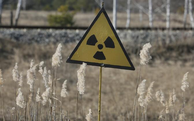 Radiatsiooni märk.