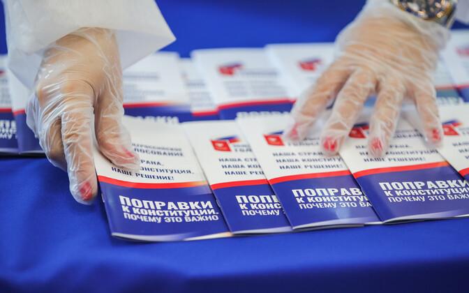 Vene põhiseadusmuudatuste referendum.