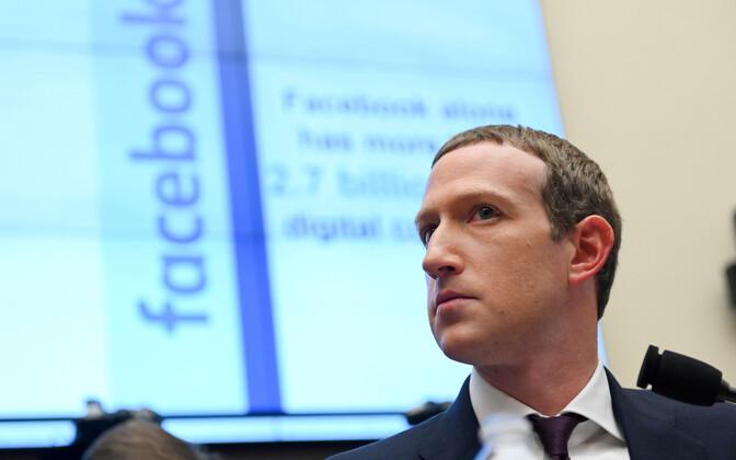 Facebooki tegevjuht ja suuromanik Mark Zuckerberg.