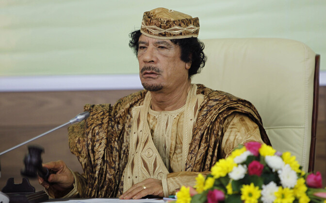 Liibüa endine diktaator Muammar Gaddafi