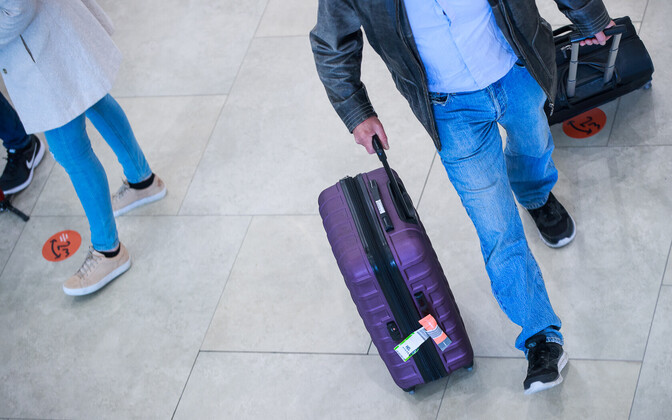 Tourists travelling in Estonia