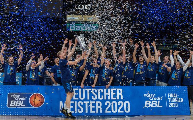 Berliini Alba krooniti pühapäeval Saksamaa korvpallimeistriks