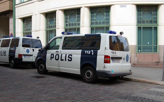 Финская полиция. Иллюстративная фотография.