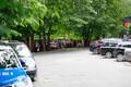 Pikett Valgevene saatkonna ees.