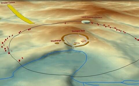 Leitud ringi läbimõõt on rohkem kui kaks kilomeetrit.