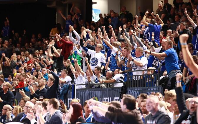 Матчи сборной Эстонии по баскетболу вызывают большой интерес болельщиков.