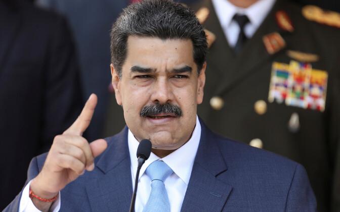 Venezuela liider Nicolas Maduro.