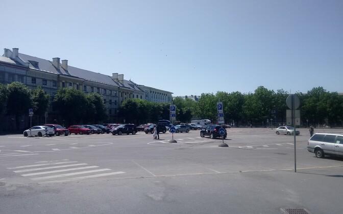 Peetri plats in Narva.