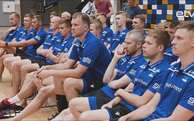 Мужская сборная Эстонии по волейболу.
