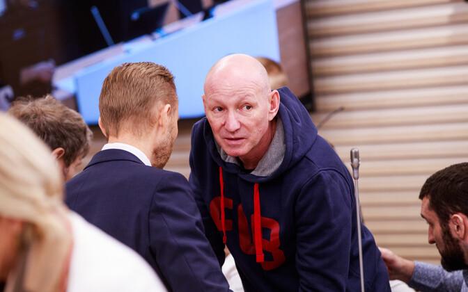 Вячеслав Гулевич в зале суда.