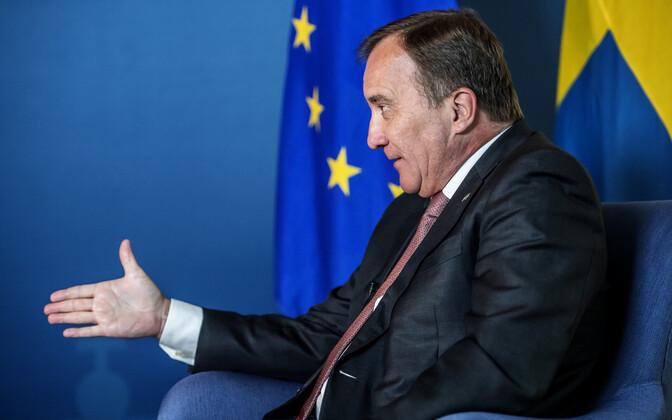Rootsi peaminister Stefan Löfven.