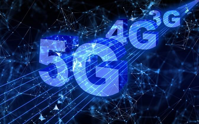 5G. Иллюстративная фотография.