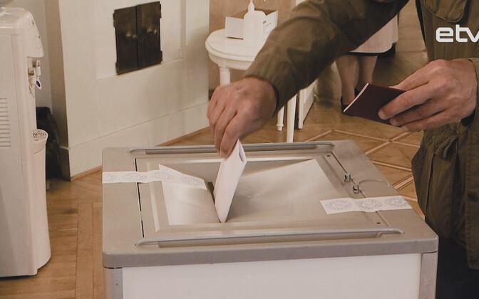 Голосование по внесению поправок в Конституцию РФ (Таллинн).