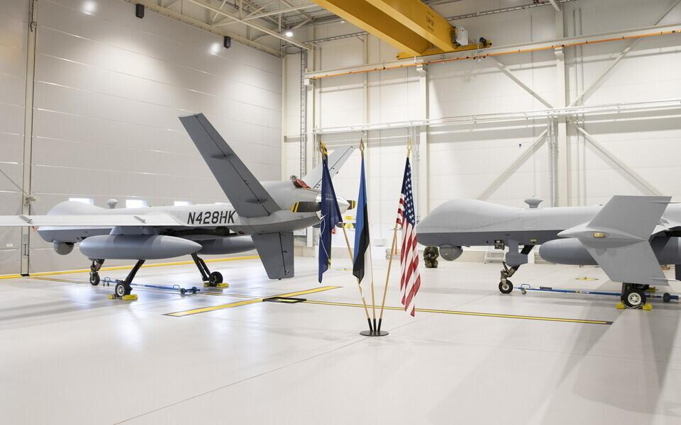 MQ-9 Reaper на авиабазе Эмари.
