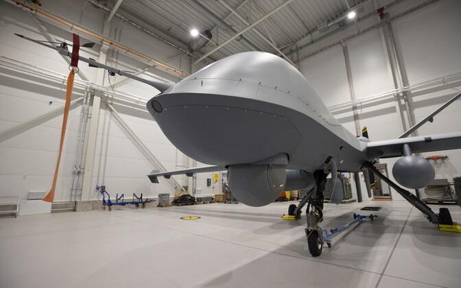U.S. Reaper drones at Ämari.